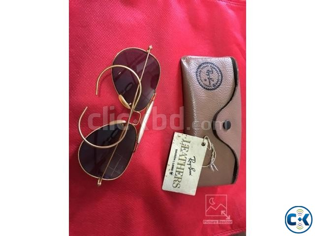 Original B L Ray Ban Outdoorsman Cable G-15 58mm | ClickBD large image 0