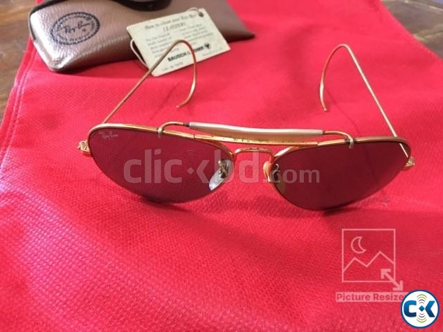 Original B L Ray Ban Outdoorsman Cable G-15 58mm | ClickBD large image 1