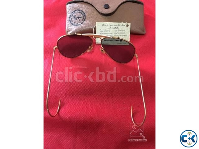 Original B L Ray Ban Outdoorsman Cable G-15 58mm | ClickBD large image 4