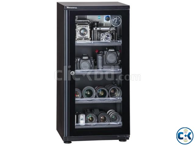 AD-109CH Electronic DRY CABINET 106L - Black | ClickBD large image 0