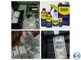 BLACK MONEY CLEANING WITH SSD SOLUTION CHEMICAL AUTOMATIC