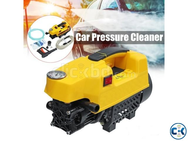 Electric Car High Pressure Washing Cleaner Machine 120 Bar | ClickBD large image 0