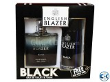 English Blazer Black Gift Set For Men 100 ml 150 ml