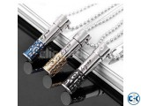 100 Stainless Steel Men s Chain-1pc