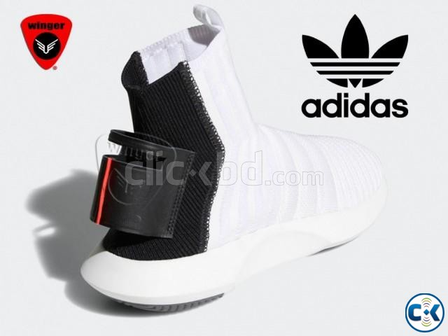 Adidas Crazy 1 Sock ADV Primeknit Shoes White  | ClickBD large image 2