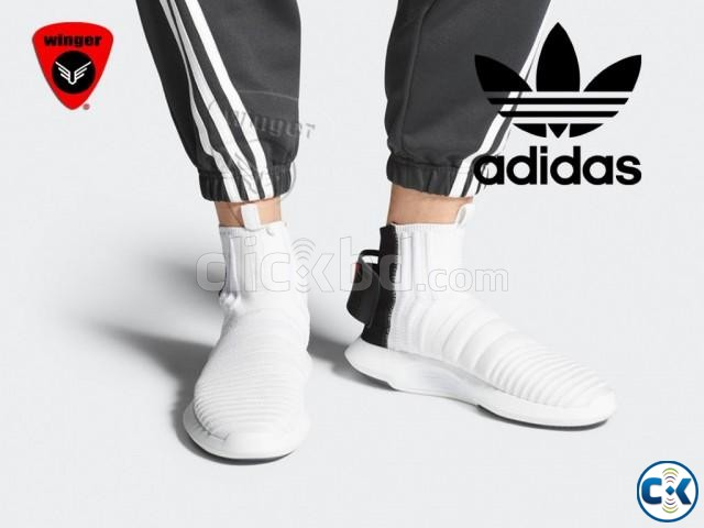 Adidas Crazy 1 Sock ADV Primeknit Shoes White  | ClickBD large image 4