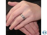 Silver Plated Finger Ring for Men