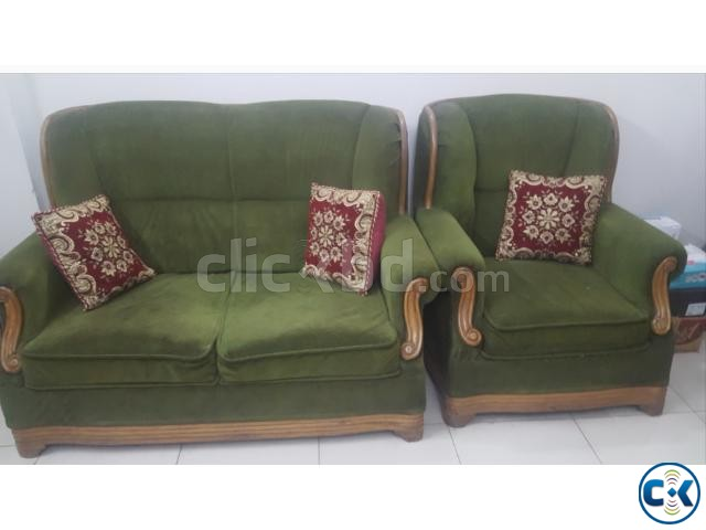 Sofa with center table | ClickBD large image 0
