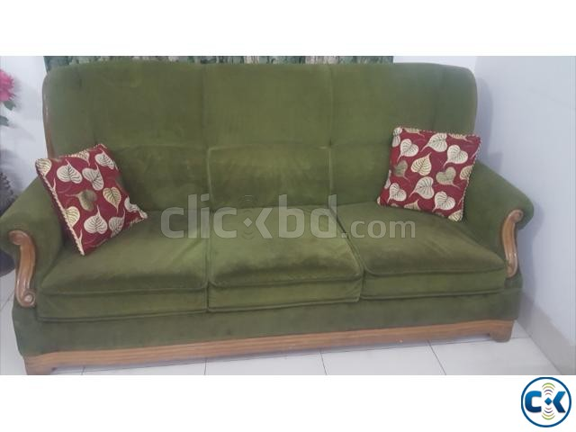 Sofa with center table | ClickBD large image 1