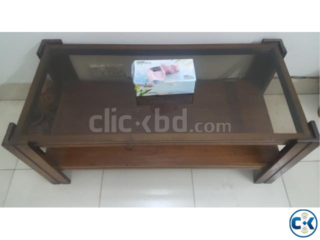 Sofa with center table | ClickBD large image 2