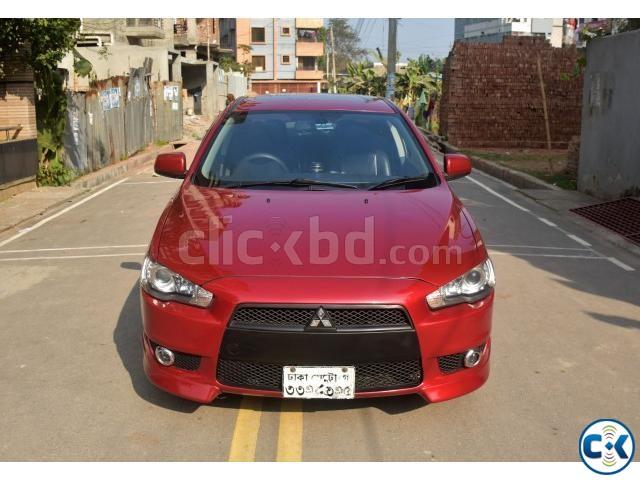 Mitsubishi Lancer Ex Red Sunroof 2017 Clickbd Large Image 0