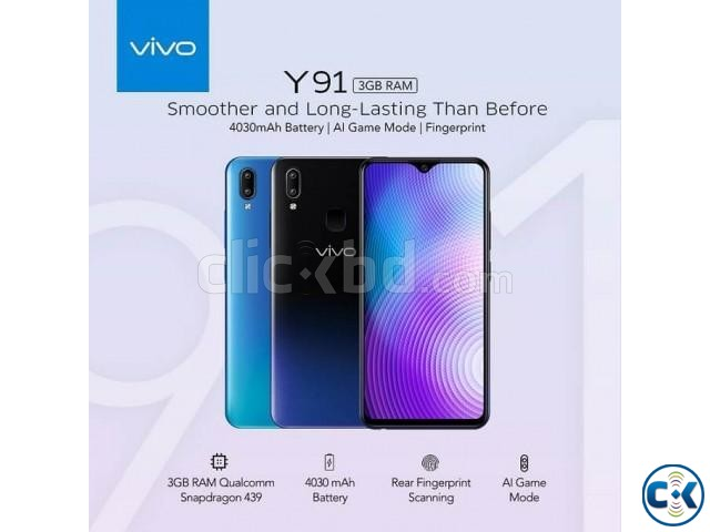 Brand New Vivo Y91i With Official Warranty | ClickBD large image 3