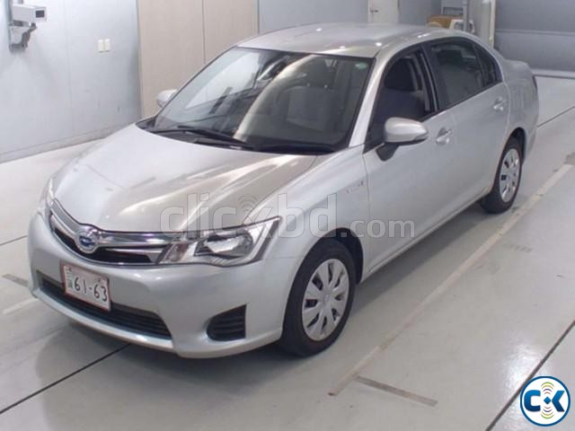 Toyota Axio Hybrid Silver 2013 | ClickBD large image 0