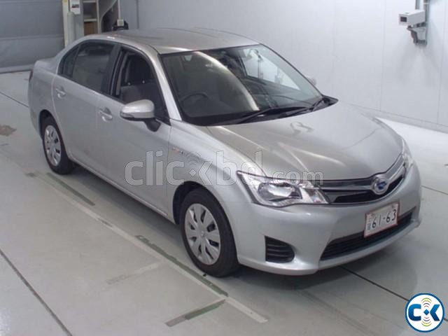 Toyota Axio Hybrid Silver 2013 | ClickBD large image 1