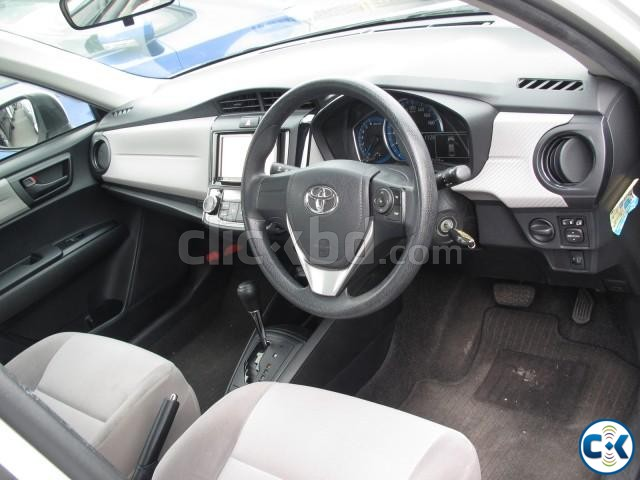 Toyota Axio Hybrid White 2013 | ClickBD large image 2