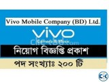 Vivo Mobile Co. BD Ltd Job Circular 2019