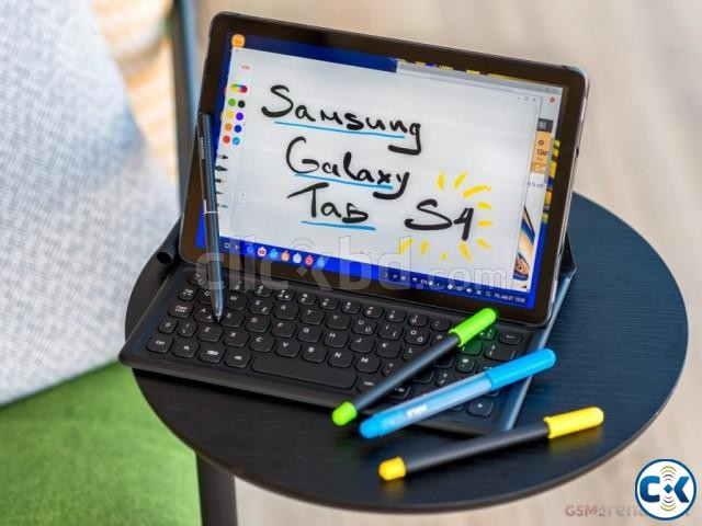 Brand New Samsung Galaxy Tab S4 10.5 Sealed Pack 3 Yr Wrnty | ClickBD large image 0