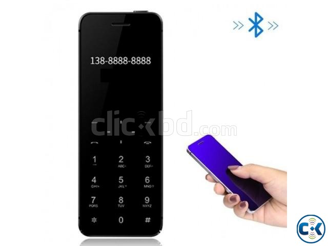 ULCOOL V36 card Phone Dual SIM Bluetooth dial | ClickBD large image 2