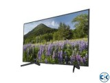 SONY BRAVIA 4K HDR SMART TV 49X7000F
