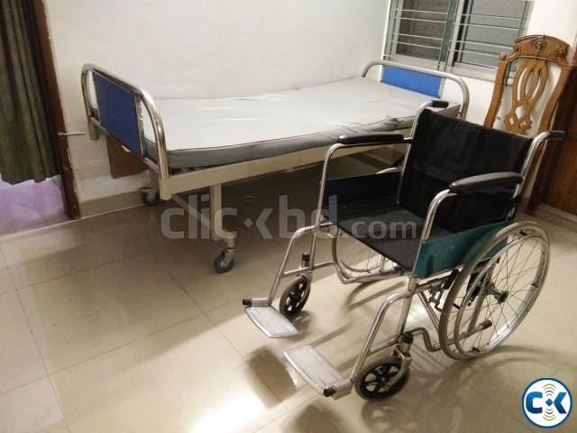 Wheel Chair for Patient | ClickBD large image 0
