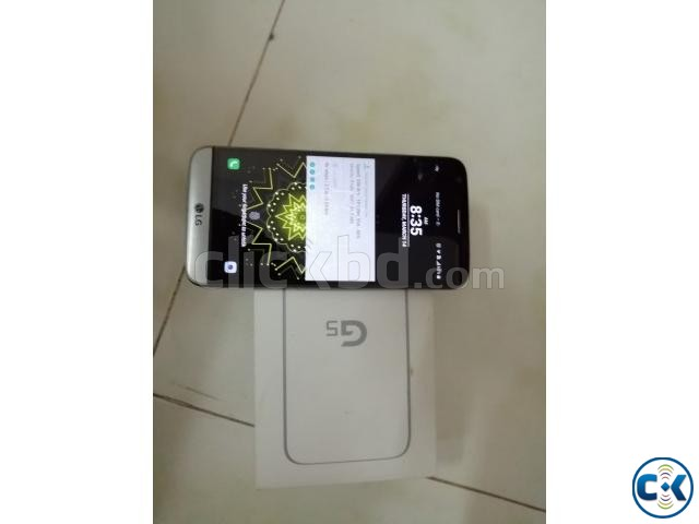 Android LG G5 Fresh condition with BOX Charger | ClickBD large image 2