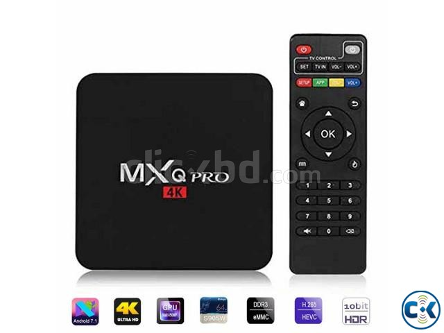 MXQ Pro 4k Android 7.1 Quad Core CPU 2.0 Ghz 1GB 8GB | ClickBD large image 1
