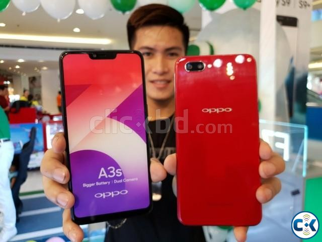 Oppo A3s 16GB 1 Year Official Warranty | ClickBD large image 2