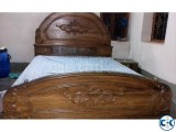 Segun wood box bed