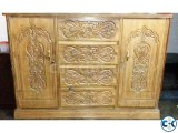 Segun wood Wardrobe