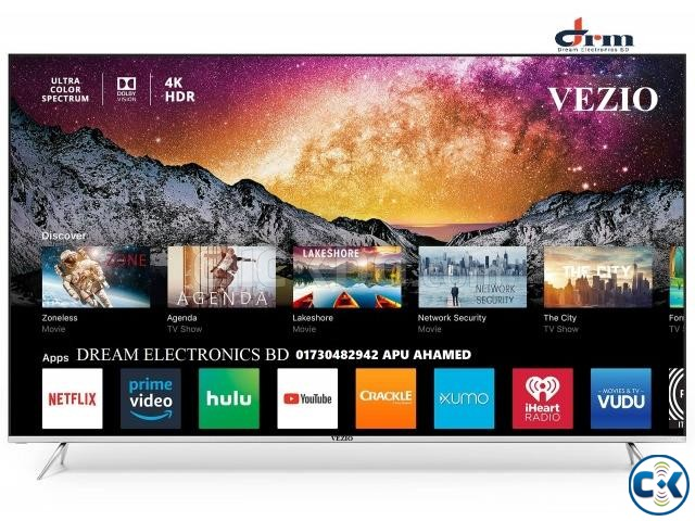VEZIO 65 DOUBLE GLASS SMART ANDROID LED TV | ClickBD large image 2