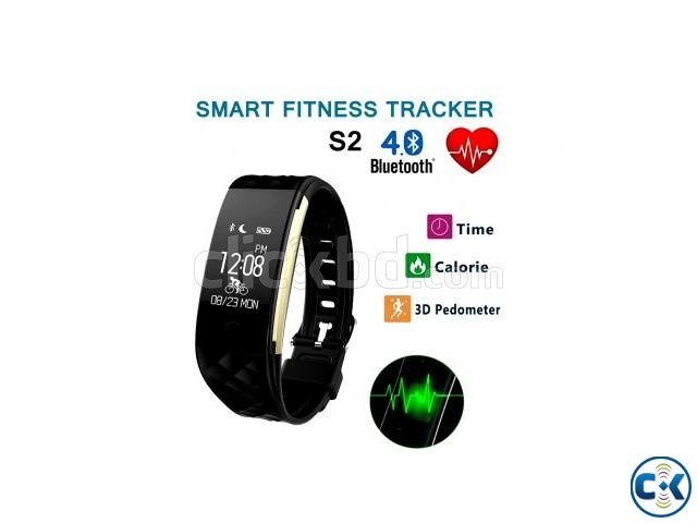 Blood Pressure Monitoring Fitness Band with Smart watch | ClickBD large image 0