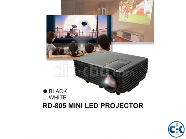 LED Projector With Built in TV Card | ClickBD large image 0