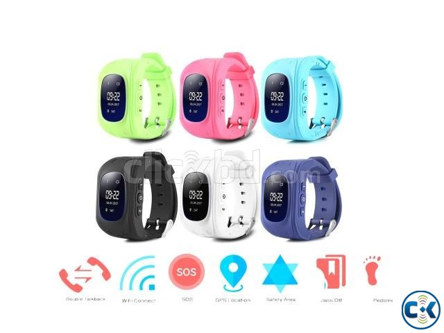 GPS Watch for Kid s Location with Connection Q50 GPS Tracker | ClickBD large image 0