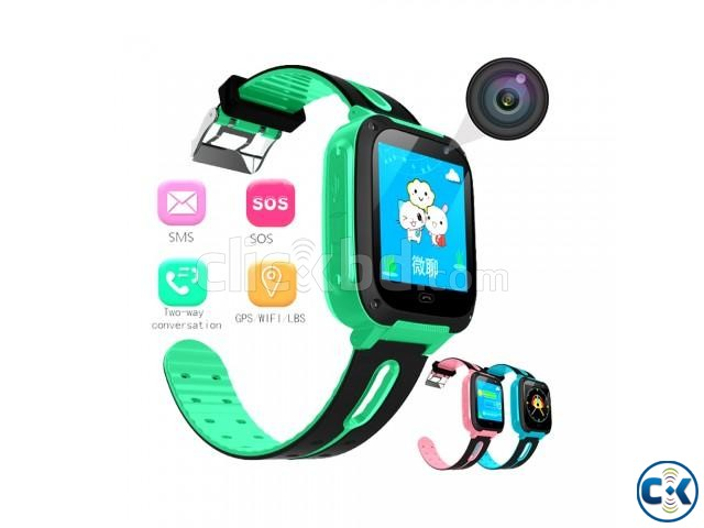 GPS Watch BANGWEI Kids GSM APGS LBS GPS Tracker | ClickBD large image 0