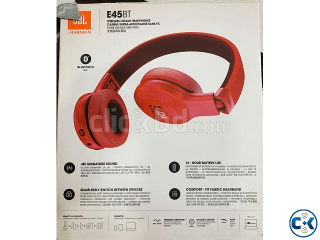 JBL E45BT RED Headphone Cover | ClickBD large image 2