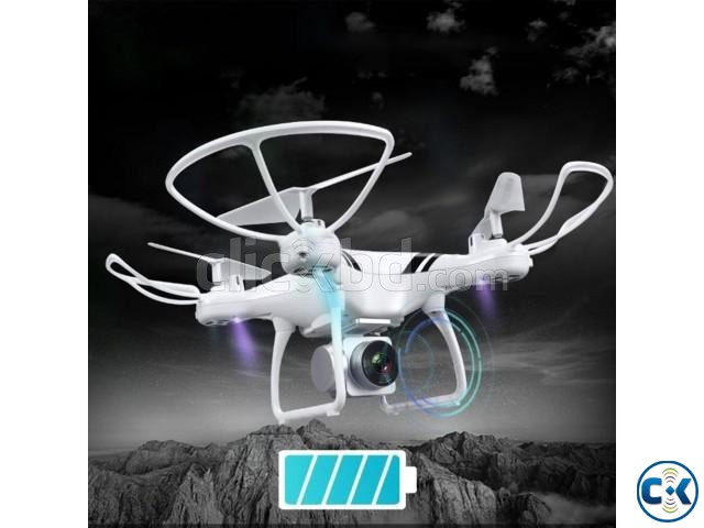 2.4G HD Camera FPV WIFI Drone Quadcopter | ClickBD large image 0