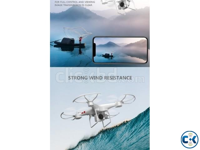 2.4G HD Camera FPV WIFI Drone Quadcopter | ClickBD large image 1