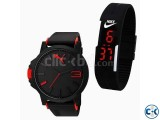Puma and LED combo watches