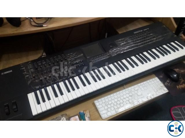 YAMAHA MOTIF XF7 SYNTHESIZER- 76 KEYS | ClickBD large image 0