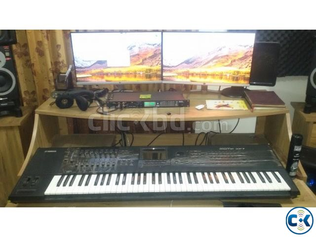 YAMAHA MOTIF XF7 SYNTHESIZER- 76 KEYS | ClickBD