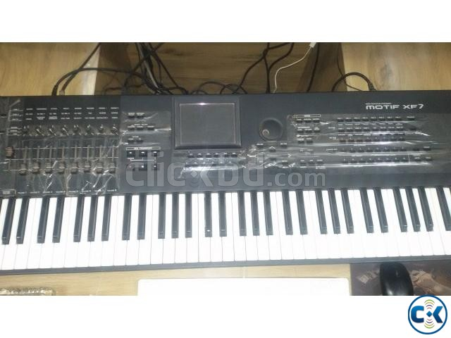 YAMAHA MOTIF XF7 SYNTHESIZER- 76 KEYS | ClickBD large image 2