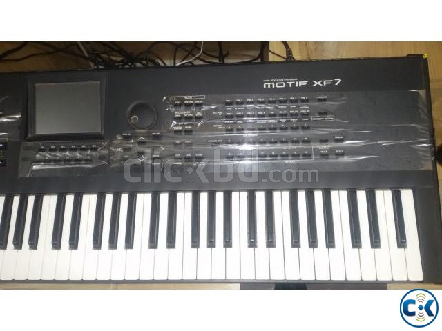 YAMAHA MOTIF XF7 SYNTHESIZER- 76 KEYS | ClickBD large image 3