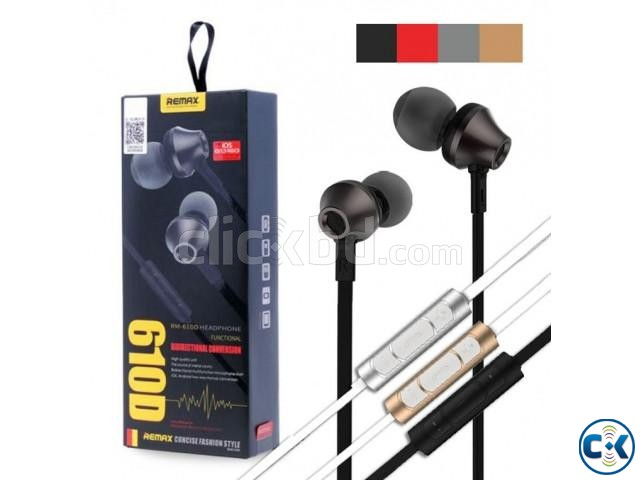 REMAX RM 610D IN-EAR EARPHONE | ClickBD large image 1