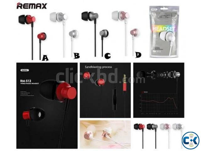 Remax RM-512 3.5mm Wired Music Earphone | ClickBD large image 3