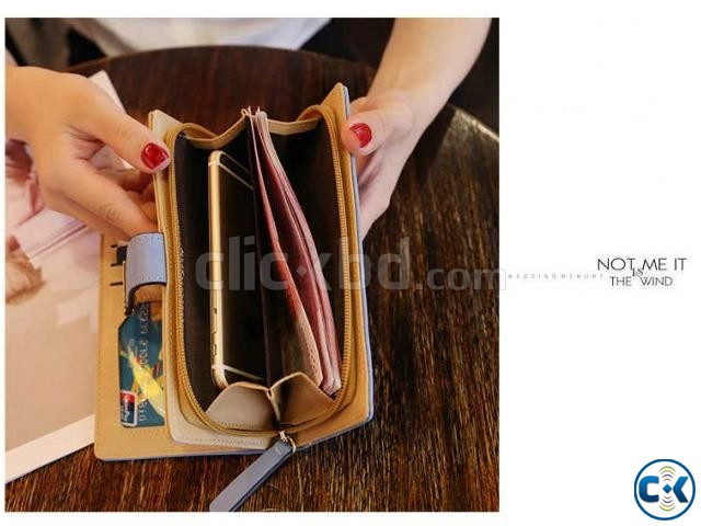 PU Leather Hand Purse For Women | ClickBD large image 2
