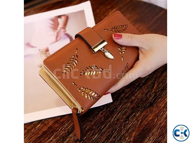 PU Leather Hand Purse For Women | ClickBD large image 0