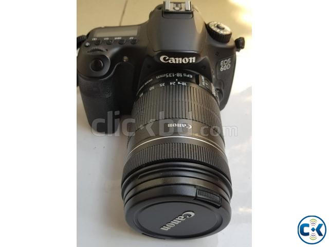 Canon 60D with 18-135 lens with Case Logic Bag | ClickBD large image 0