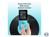 T02 Mp4 player 16GB Hi-Fi Sound FM Voice Recorder Metal Body