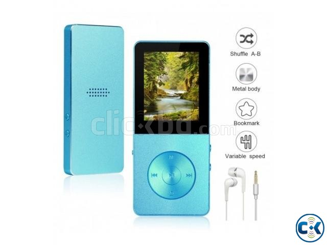 T02 Mp4 player 16GB Hi-Fi Sound FM Voice Recorder Metal Body | ClickBD large image 2