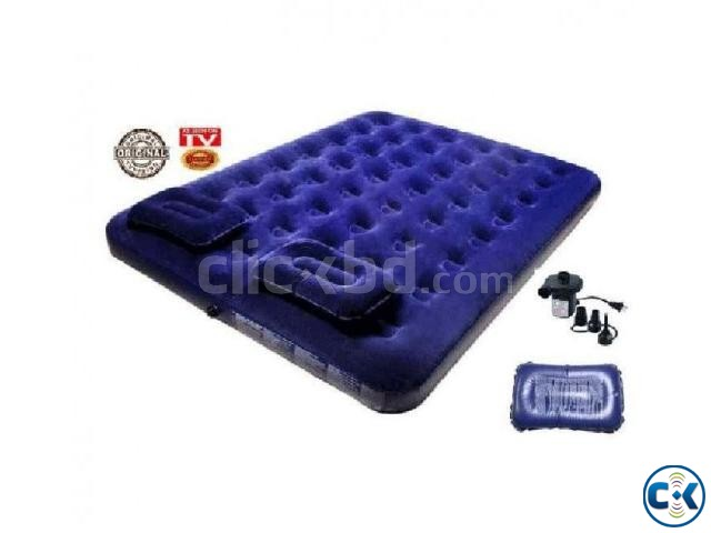 Bestway Double Air Bed with 2 Pillow | ClickBD large image 0